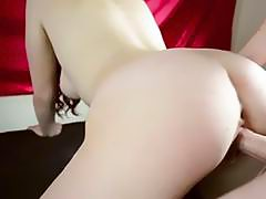 MY MASSIVE 18 YEAR OLD TITS AND ASS BOUNCING ON YOUR COCK! I'M CUM COVERED!