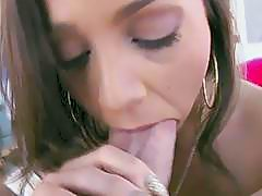 Nice thick butt chick  blowjob and gets pounded