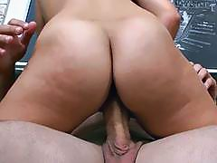 Adorable doxy exposes her curves during sex